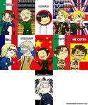 Hetalia Meme Faces - Set #1