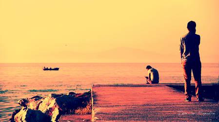 lonely people's dock by brokensticksorginalo