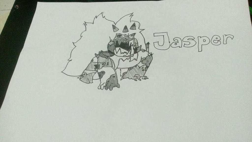 Corrupted Jasper by Azulors