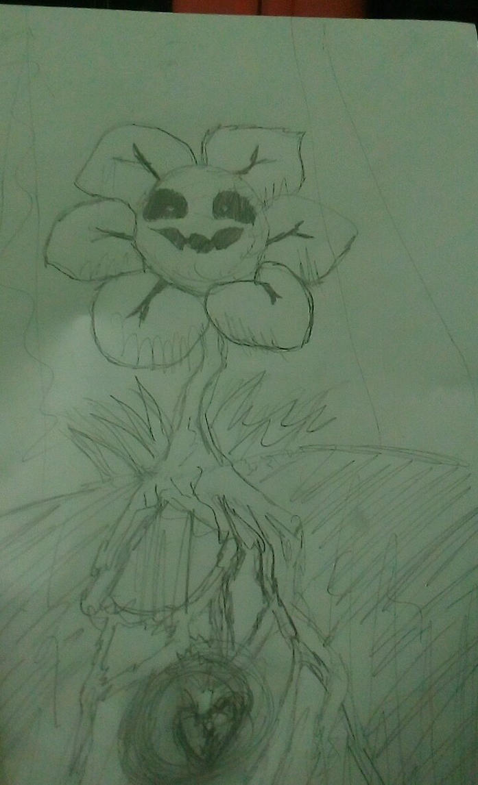 Flowey Undertale By Azulors by Azulors
