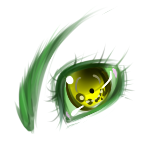 Green Eye by Ahsayuni-Love