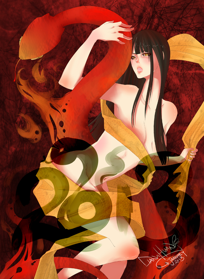 Year Of The Snake 2013 by Ahsayuni-Love