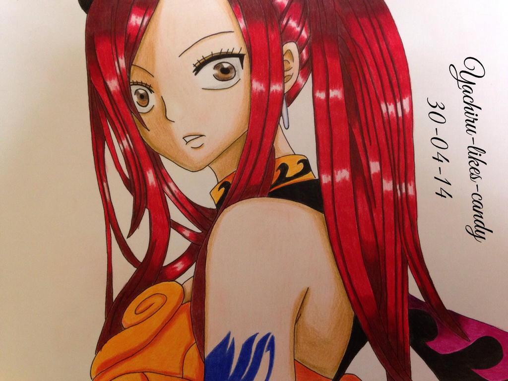 Erza Scarlet by Yachiru-likes-candy