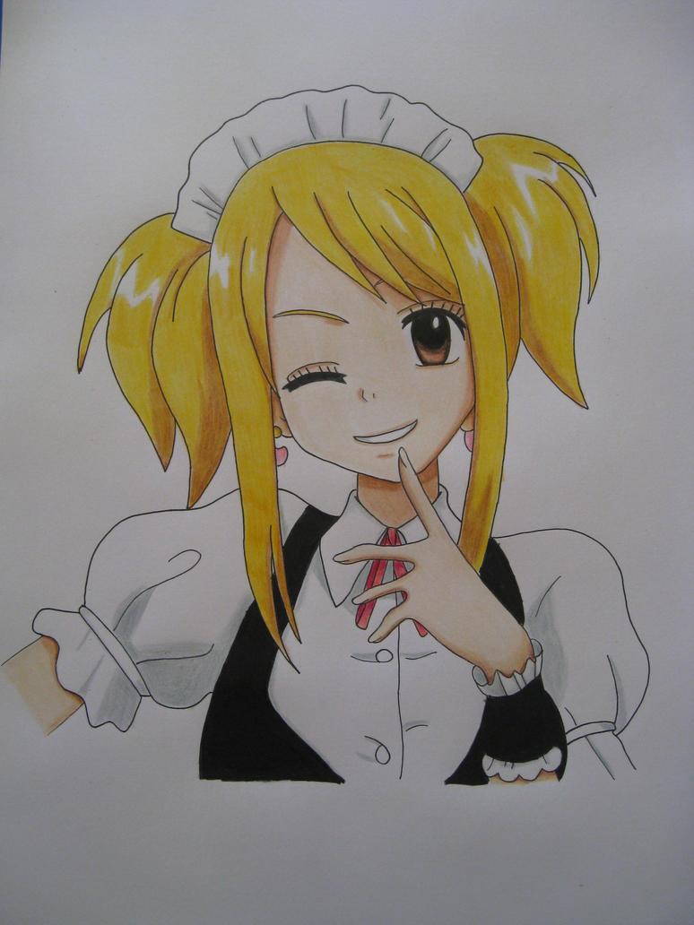 Maid Lucy by Yachiru-likes-candy