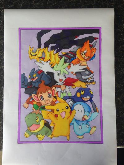 Pokemon Collage  by Yachiru-likes-candy