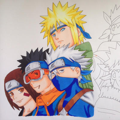 Naruto group WIP by Yachiru-likes-candy