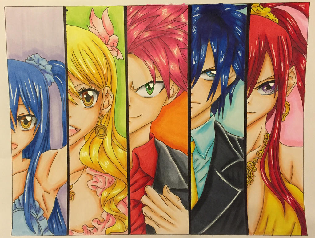 Strongest team in Fairy Tail by Yachiru-likes-candy