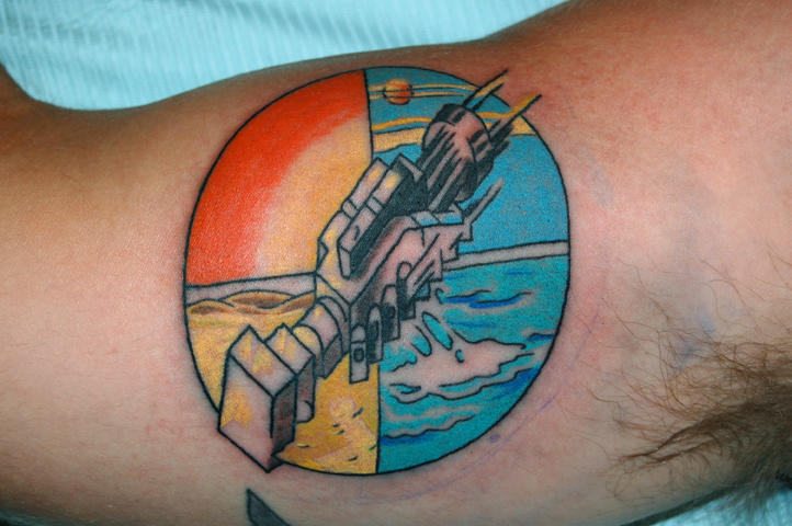 Pink floyd tattoo by tstctc on deviantart for Pink floyd tattoo