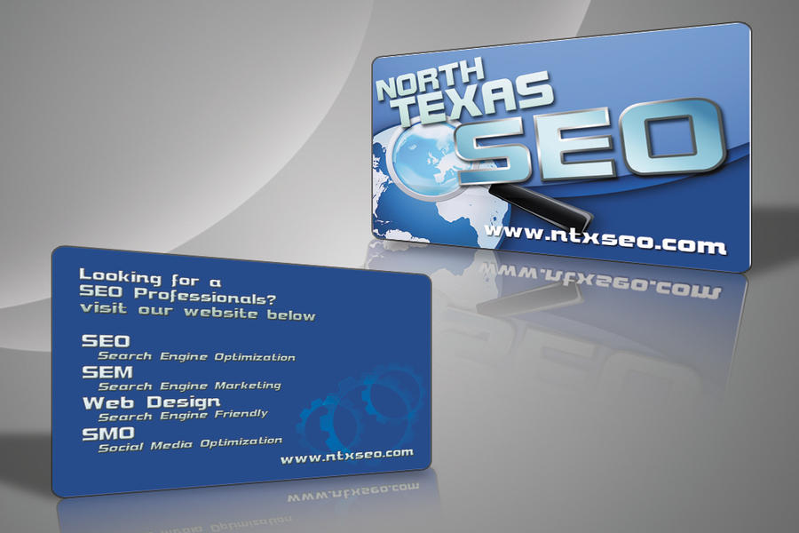 North Texas SEO Business Card by BrykeDesign on DeviantArt