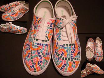 Snake shoes. by GeekerSneakerUK