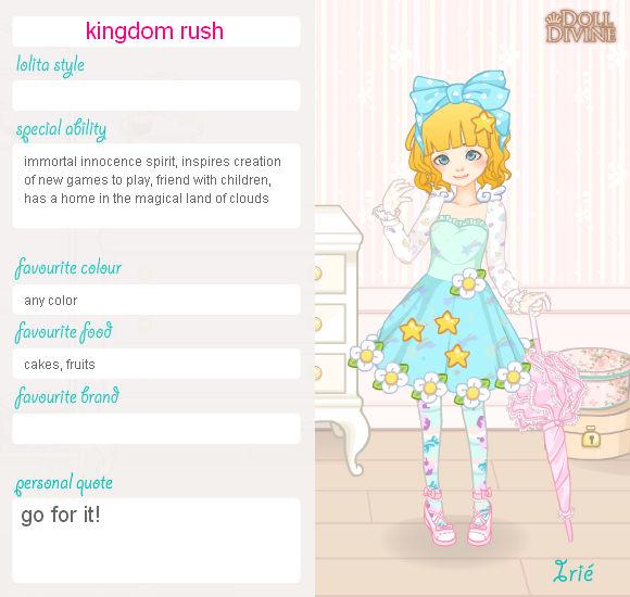 sweet lolita: kingdom rush