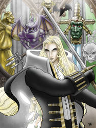 Alucard and Familiars by gateapparel