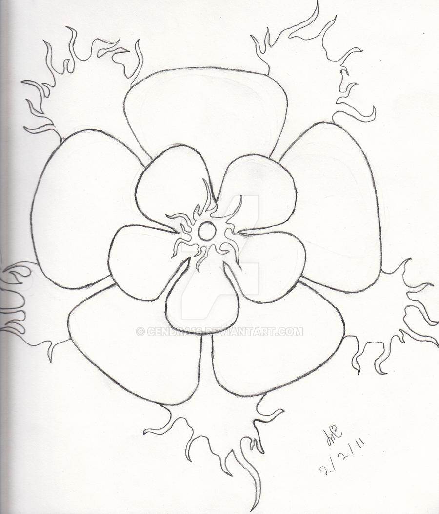 Burning Rose by Cendra16