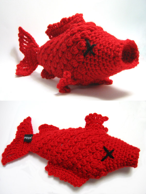 one fish, two fish, red fish by andricongirl