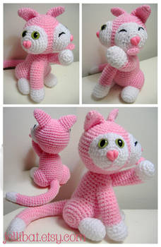 pink 2 faced kitty