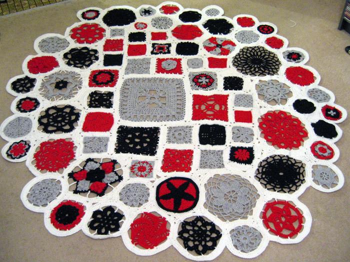 motif sampler blanket by andricongirl