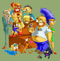 Oh, the family by mariods