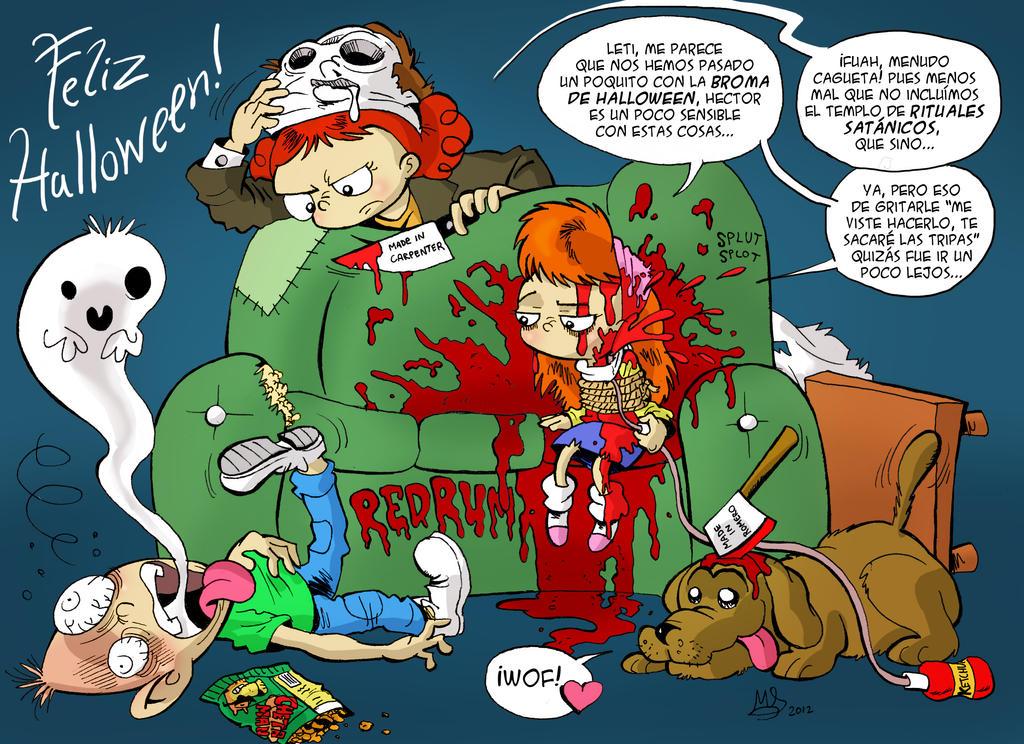 Jenni Halloween by mariods