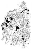 Escuadron Chico-Ardilla Steampunk by mariods