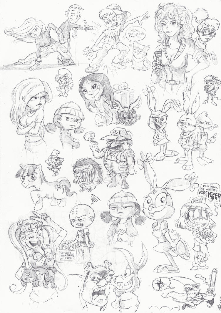 TV Sketches by mariods