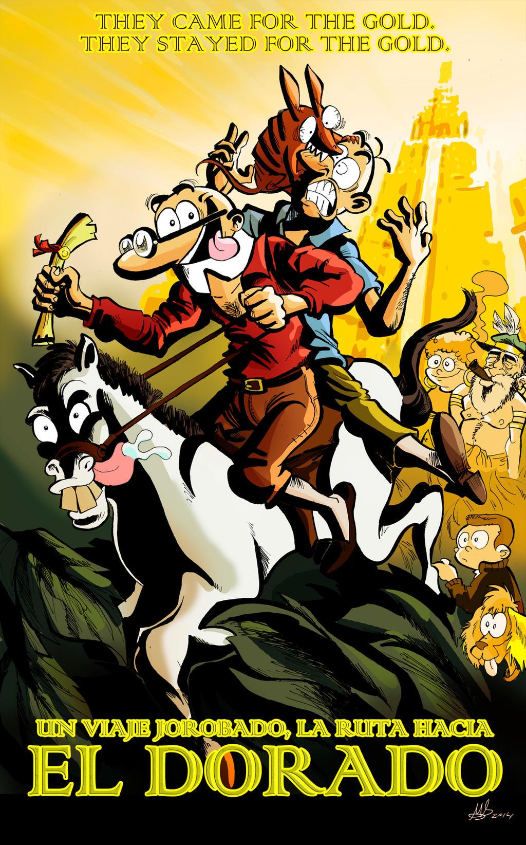 Mortadelo y Filemon La Ruta hacia el Dorado by mariods
