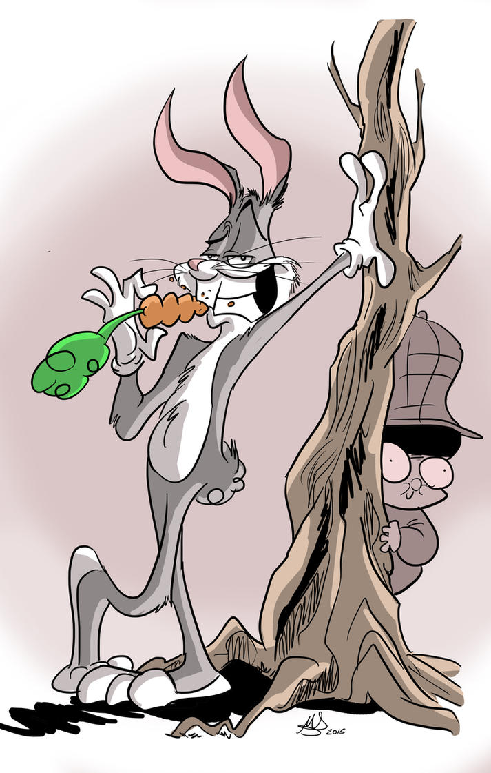 75 years of Bugs Bunny by mariods