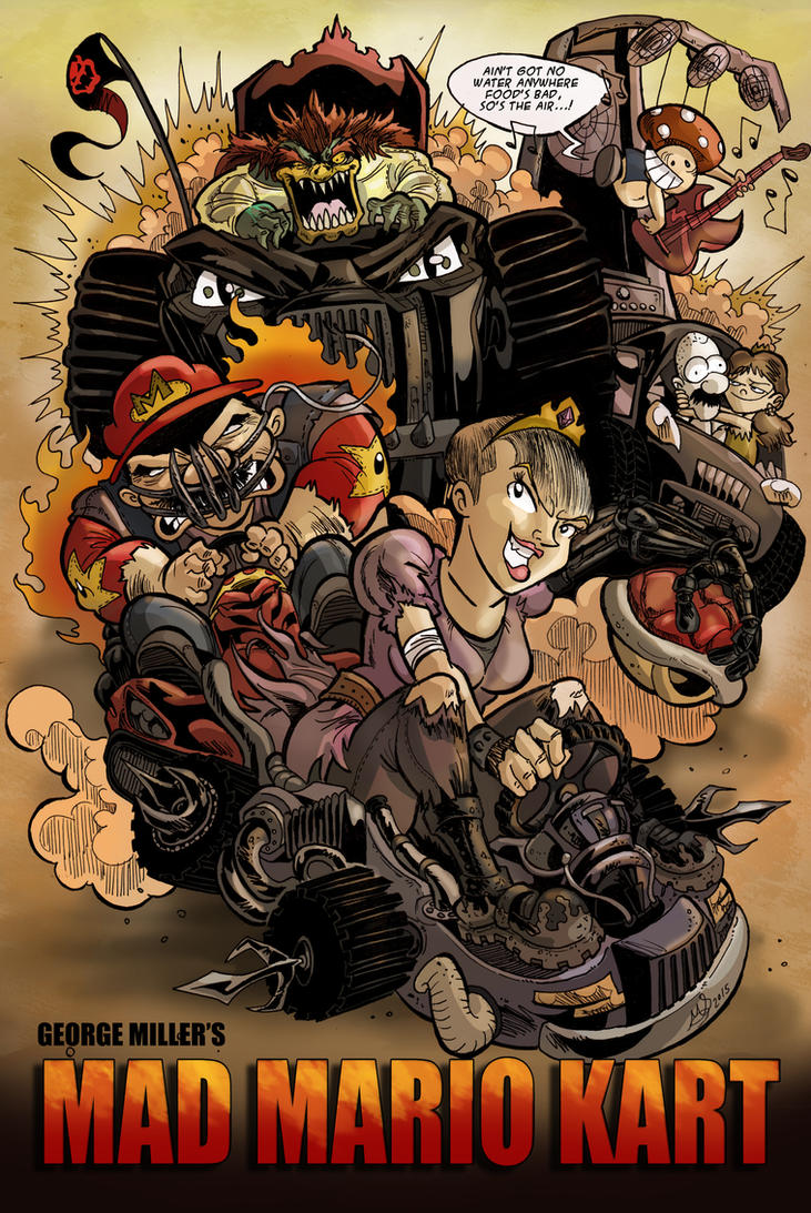 Mad Mario Kart by mariods