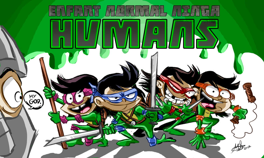 ENFANT NORMAL NINGA HUMANS by mariods