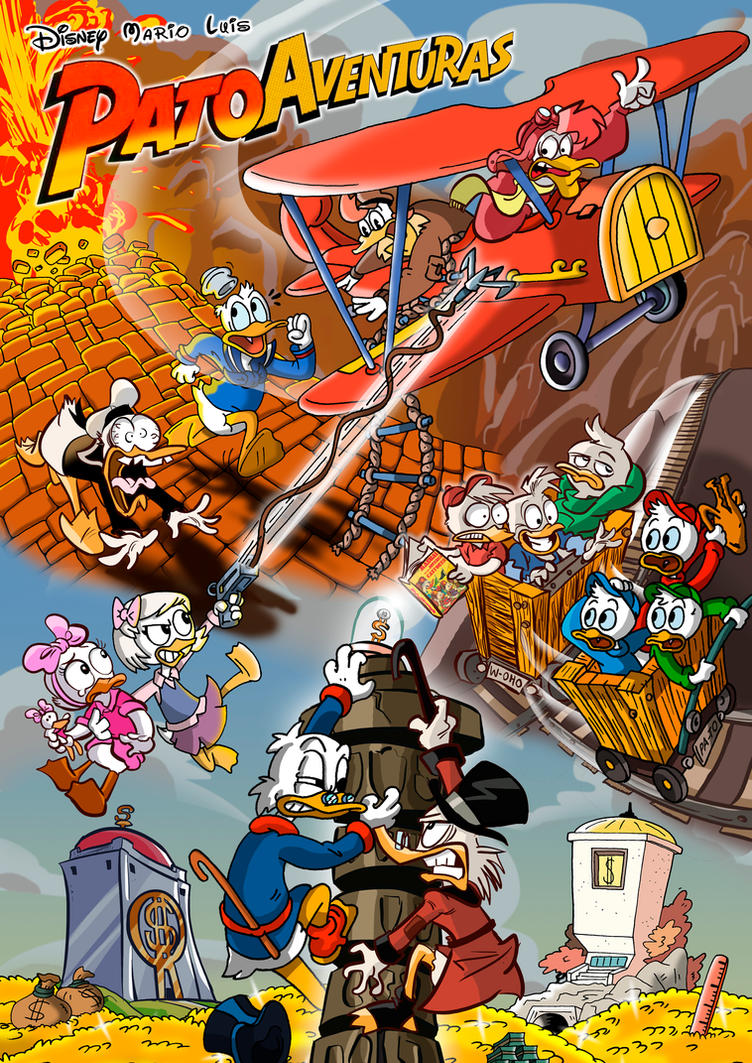 Ducktales co drawing by mariods on deviantart for Craft fairs near me november 2017