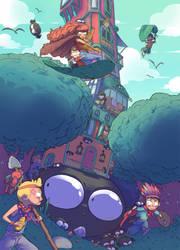 Children's game by BattlePeach