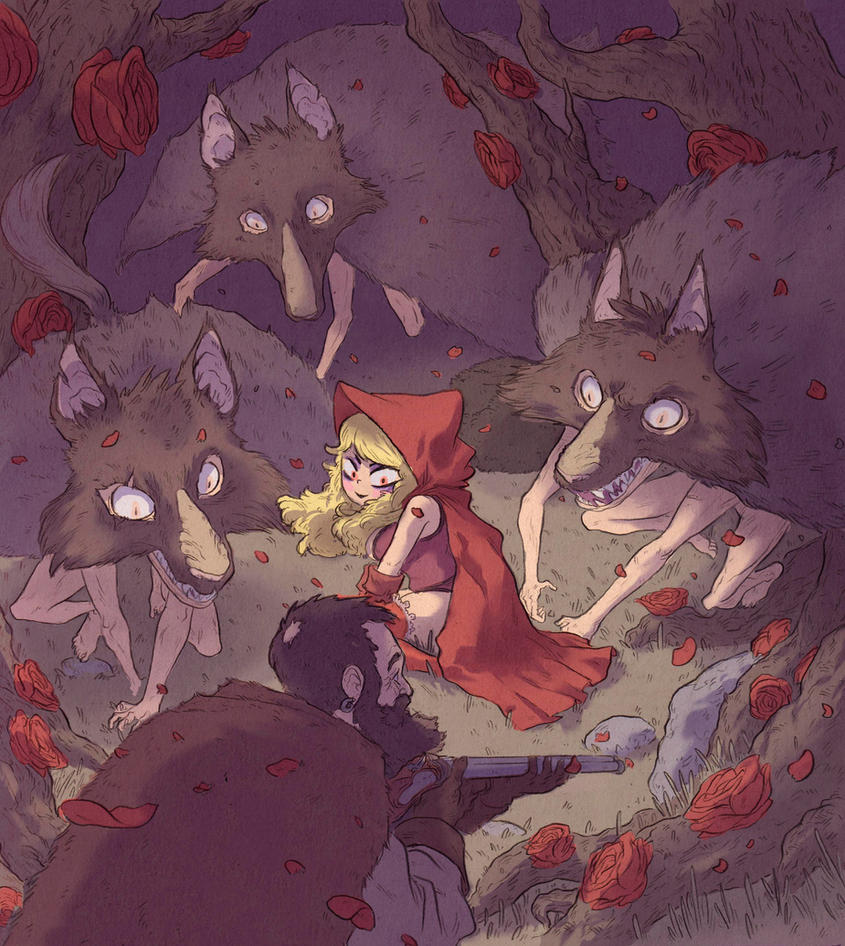 Red riding hood by BattlePeach