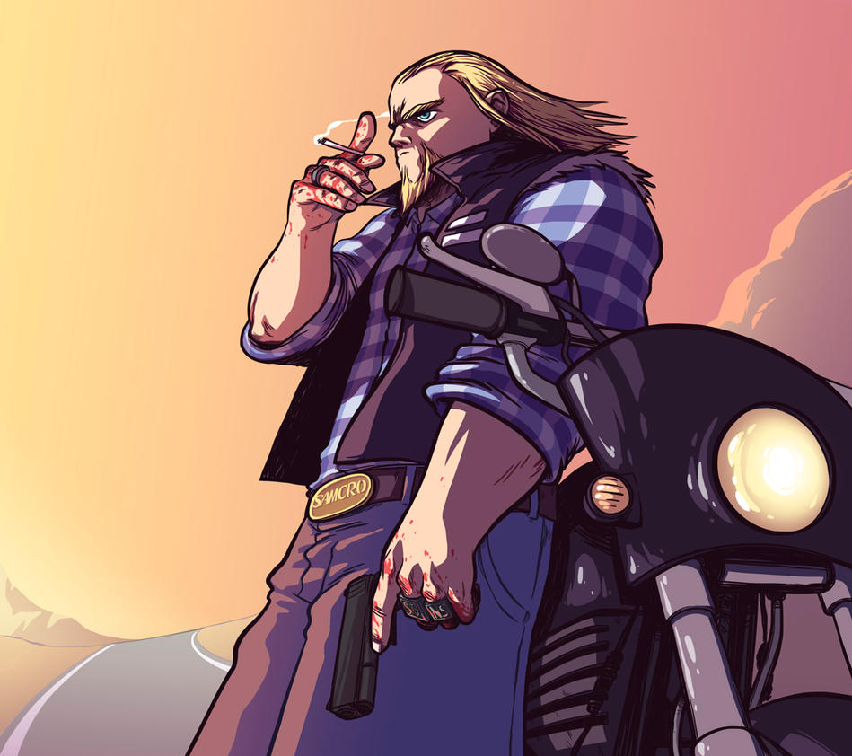 Sons of Anarchy tribute by BattlePeach