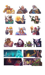 Tavern fame character compilation
