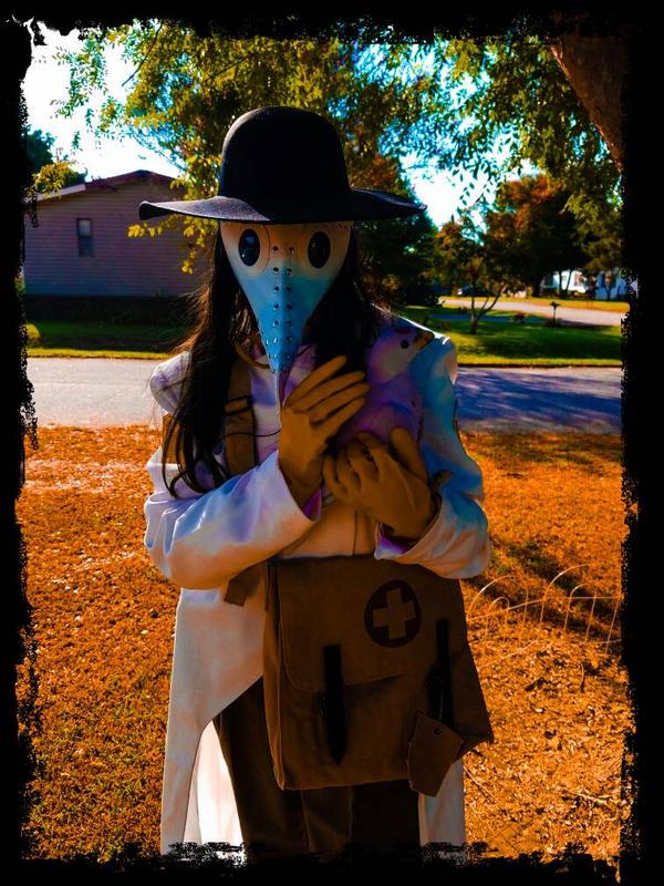 Plague Medic Cosplay  by chrismata-dimensions