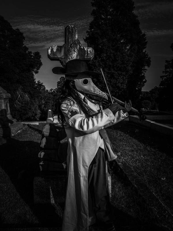 Rose Hill Cementary  Plague Doctor Cosplay by chrismata-dimensions
