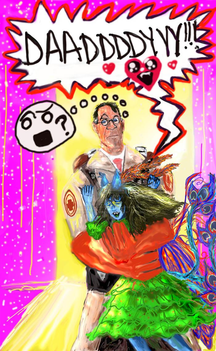 Daddy Medic by chrismata-dimensions