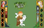 The Secret of Kells fanart by Whitewolfofkells
