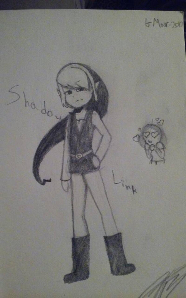 Shadow Link by inktheartistdude