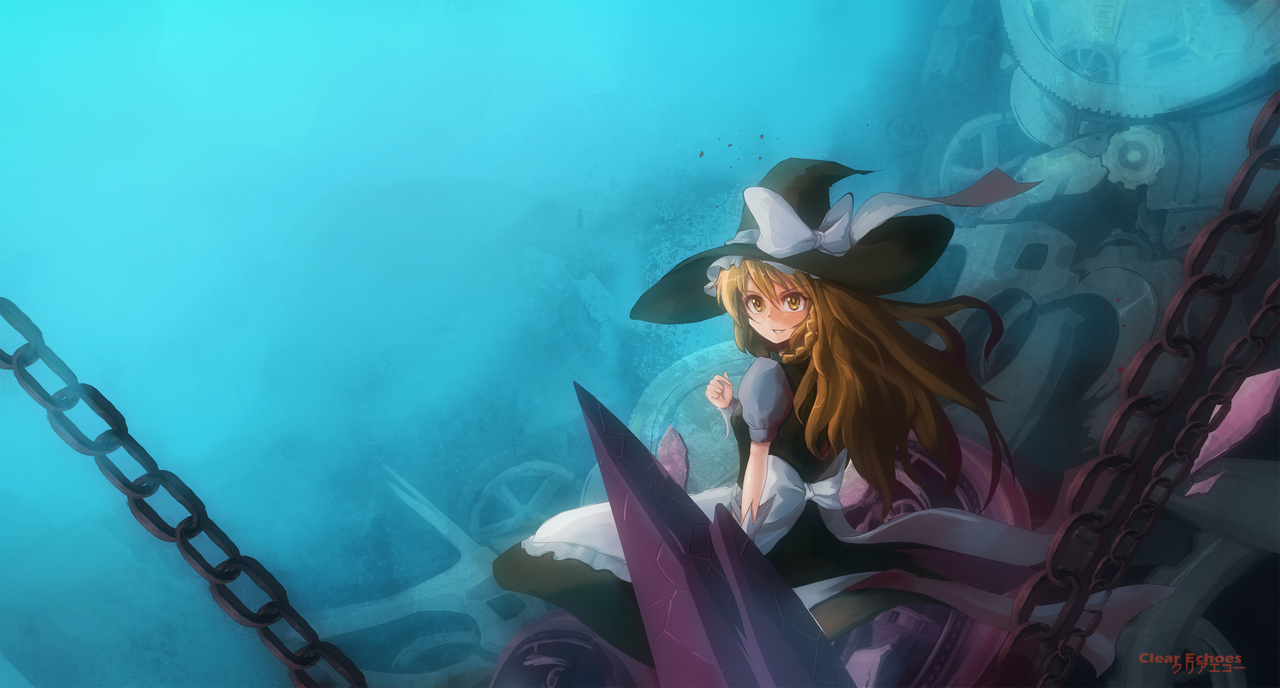 Touhou : Marisa by ClearEchoes