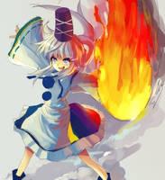Touhou : Mononobe no Futo by ClearEchoes