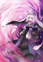 Touhou : Yuyuko Saigyouji by ClearEchoes