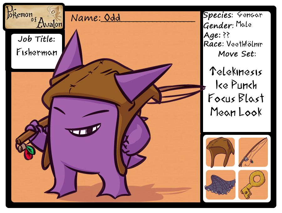 Pokemon of Avalon - Odd by cavemonster