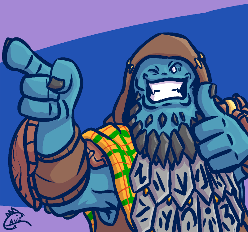 Buddy Trollses by cavemonster