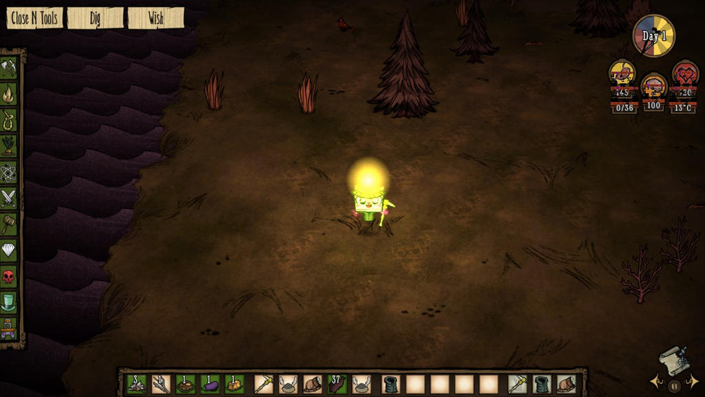 A random moment with Unikitty in Don't Starve by bombtails2
