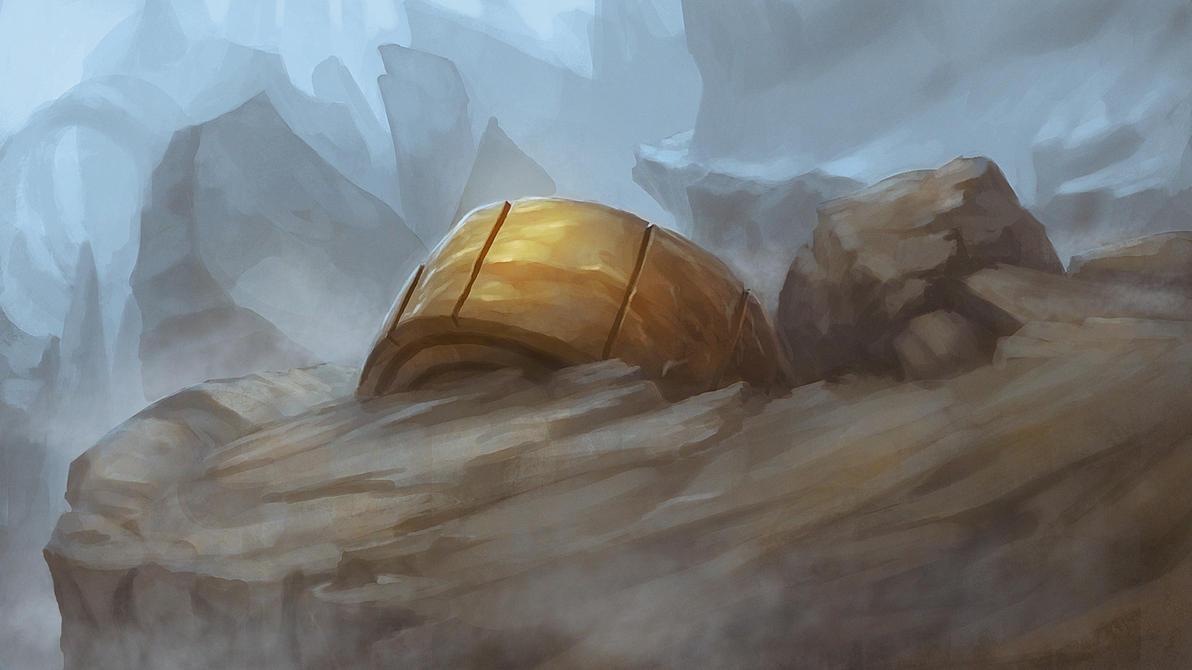 Sketch Rock Blue by htkpeh