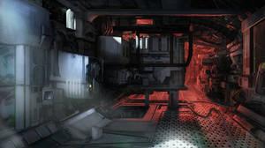 spacestation by htkpeh
