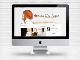 Layout Blog Apenas Um Toque by Paloma182