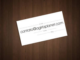 business card clean by Paloma182