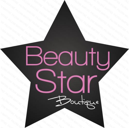Logotipo Loja Beauty Star by Paloma182