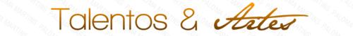 Logotipo Talentos e Artes by Paloma182